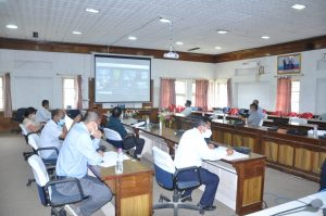 College Extension Advisory Committee meeting held in online as well as offline mode - 14 july 2021