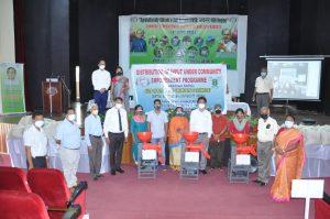 Distribution of inputs under Community empowerment programme