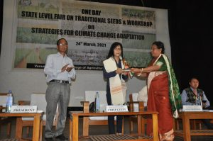 One Day State Lavel fair on traditional seeds _ Workshop on strategies for climate change adaptation - 24 march 2021