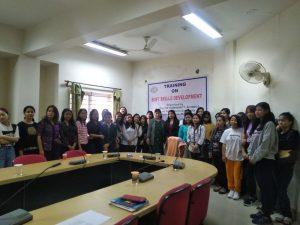 Organised soft slikk Development Training by student Counselling Cell